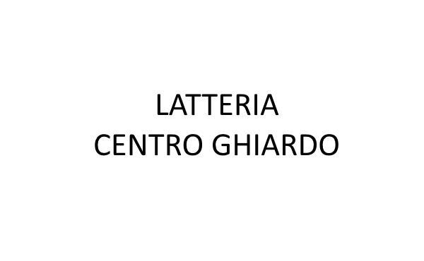 Latteria Centro Ghiardo
