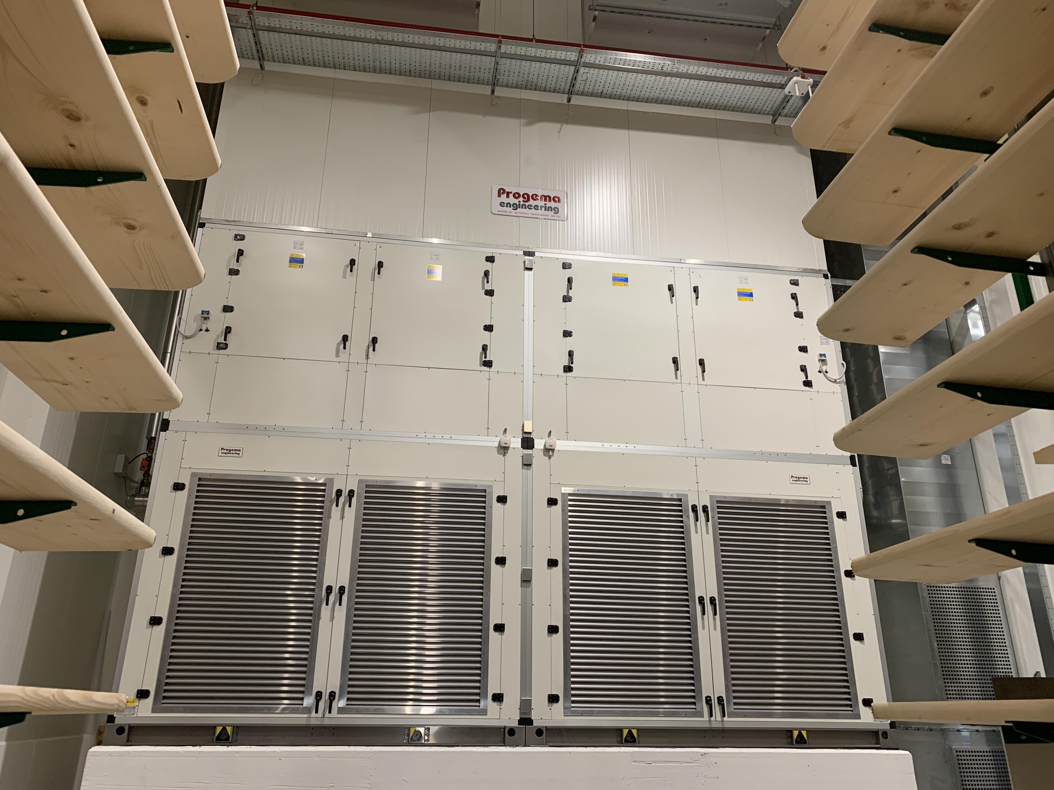Unità di trattamento aria e corridorio - 80.000 mc/h