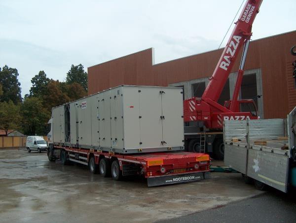Installazione di macchinari per la stagionatura e per la refrigerazione