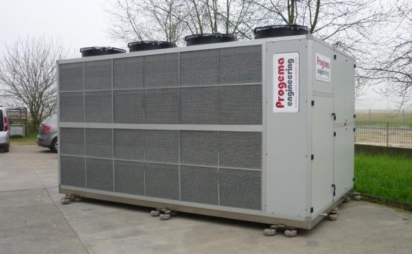 Condizionatori e pompe di calore per stagionatura