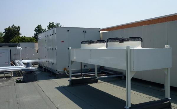 Condizionatori e pompe calore per stagionatura CDA