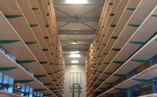 Impianti per magazzini di stagionatura flusso diffuso
