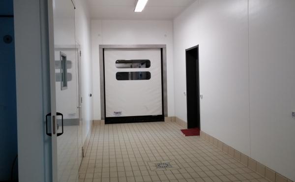 Porta rapida per cella frigorifera