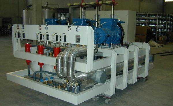 Impianti refrigeratori e motocondensanti