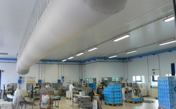 Impianti trattamento aria sale confezionamento