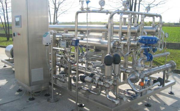 Impianto concentratore siero
