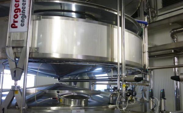 Impianto separazione latte-panna