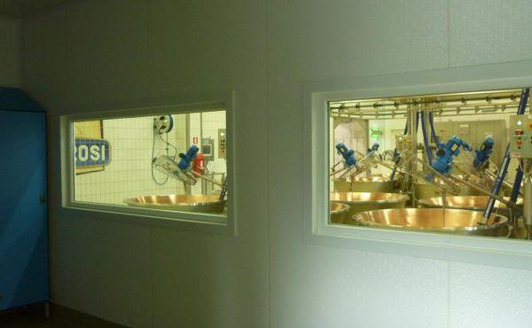 Pannellatura sala visitatori