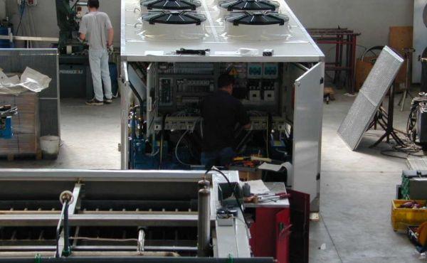 Realizzazione refrigeratori e motocondensanti