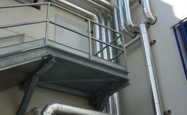 Rifacimento impianto climatizzazione