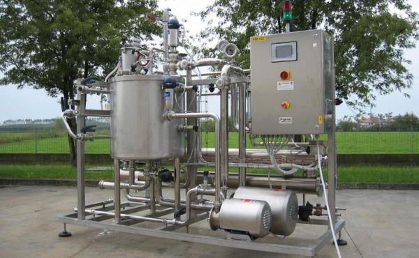 Impianto ultrafiltrazione salamoia Progema engineering