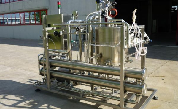 Impianto per ultrafiltrazione salamoia Progema Engineering